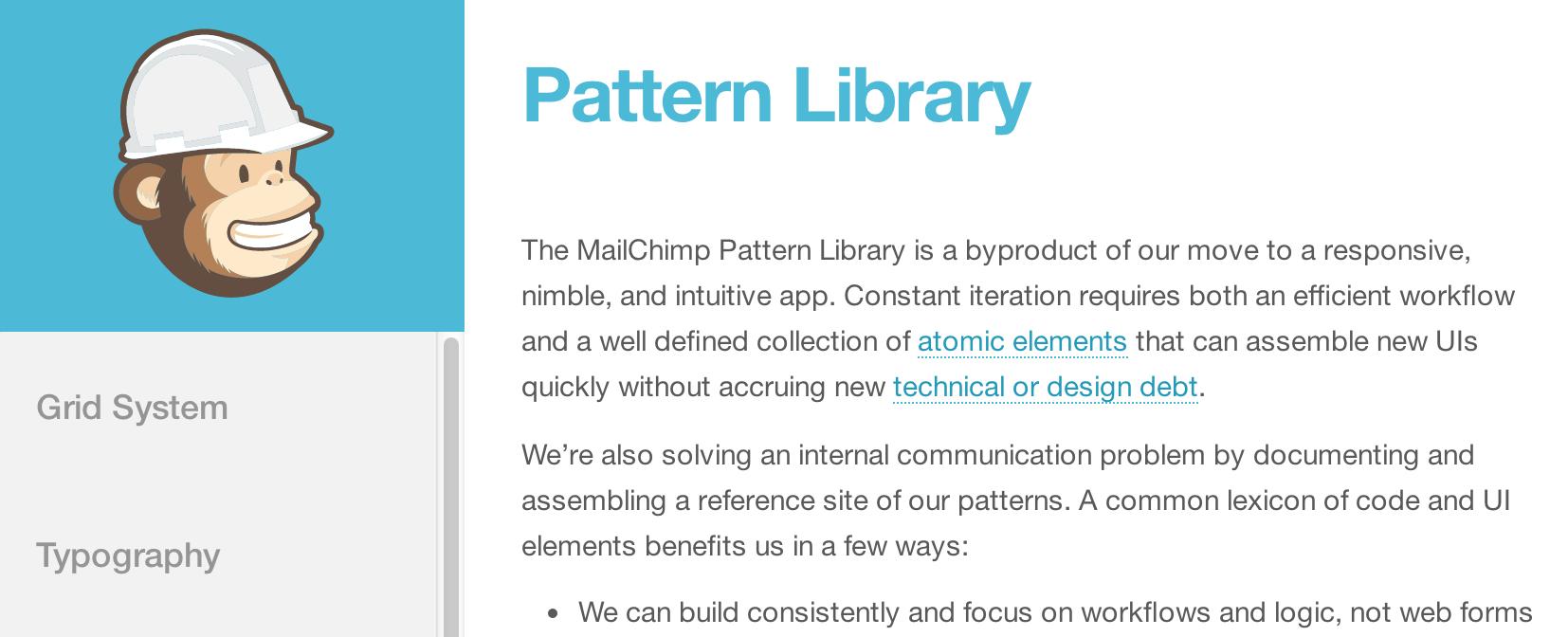 Pattern_Library___MailChimp