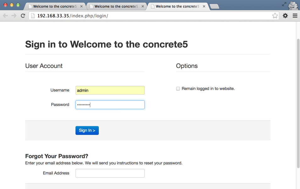 Welcome_to_the_concrete5____Login