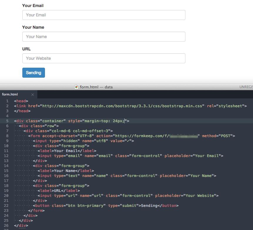 form_html